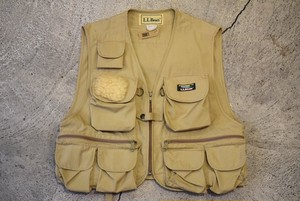 USED L.L.Bean Fishing Vest 90s -Medium V0502