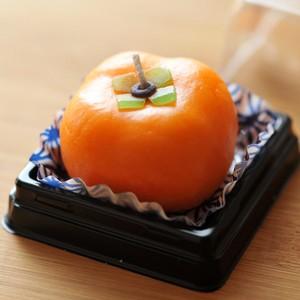 和菓子キャンドル「柿」