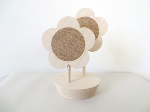 flower coaster|w/stand
