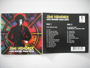 【2CD】JIMI HENDRIX / AXIS: BOLDER THAN LOVE