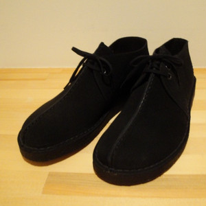"Clarks/クラークス |【SALE!!! 30%OFF】"" DESERT TREK "" - Black Suede -"