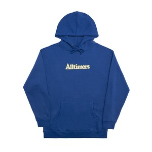 BROADWAY EMBROIDERED HOODIE -ROYAL BLUE-
