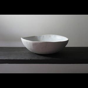 """英国の陶芸アーティスト【SARAH JERATH】""""CHALK"""" 17cm Bowl ボウル No.3"""