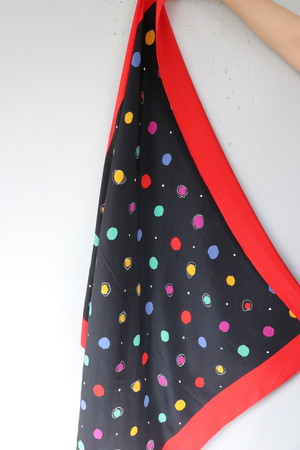 Christian Dior dot scarf