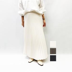 MIDIUMISOLID(ミディウミソリッド) アコーディオンプリーツロングスカート 2020秋物新作[送料無料]