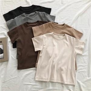 7月末まで10%off 無地 ベーシックカラー 半袖 Tシャツ T76【お取り寄せ・送料無料】