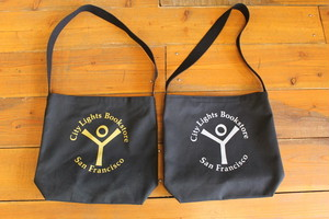 CITY LIGHTS BOOK STORE / STORE LOGO SHOULDER BAG