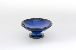 青釉 高杯小皿