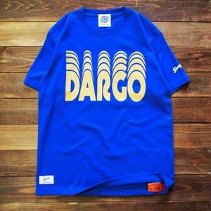 "【DARGO】""Moving Logo"" T-shirt (LOYAL BLUE)"