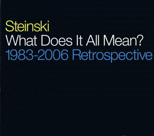 Steinski ‎/ What Does It All Mean? (1983-2006 Retrospective)(CD)