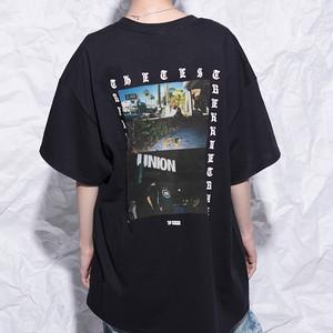 [TREKKIE TRAX × THE TEST] USA TOUR PHOTO S/S Tシャツ [BLACK]