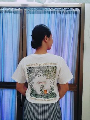 オリジナルTシャツ(「木を植え、法を植える」プロジェクト)3種類