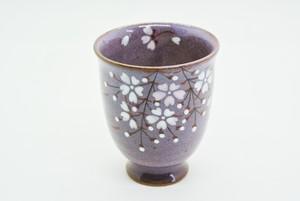 桜ミニワインカップ(紫)