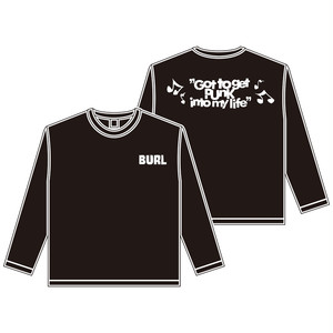 【XLのみ】GOT TO GET PUNK LONG SLEEVE(BLACK)