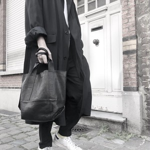 183ABG13 Leather tote 'thin & light' 2 トートバッグ