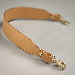 SHORT HANDLE - Vegetable tanned leather