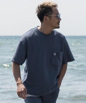 VINTAGE SUMMER KNIT BIG T-shirt[REC196]