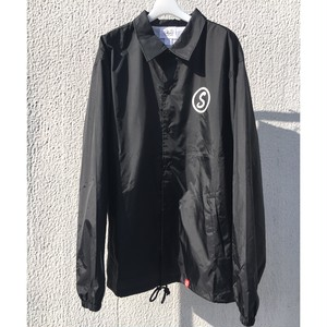 SKIN / nylon coach jacket(blk)