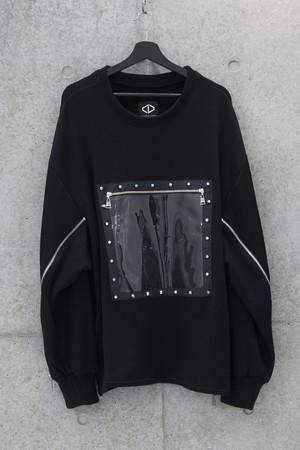 Front Frame Sweat [Black]