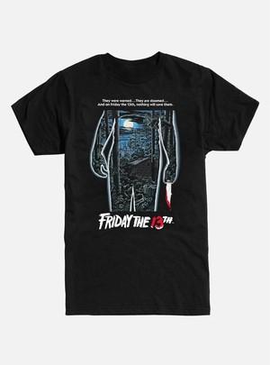 Tシャツ 13日の金曜日 ポスター