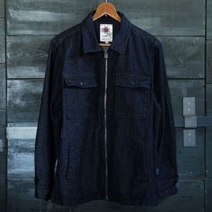 STONE FIELD JACKET DENIM【Nasngwam】