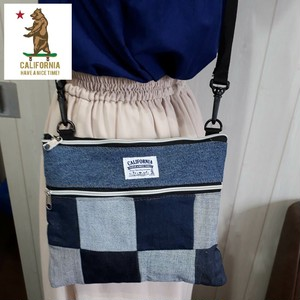 """Remake Denim"" sacoche-bag リメイクデニムコレクション 【CALIFORNIA HAVE A NICE TIME!】"
