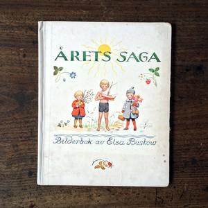 エルサ・ベスコフ「Årets Saga(いちねんのうた)」《1927-01》