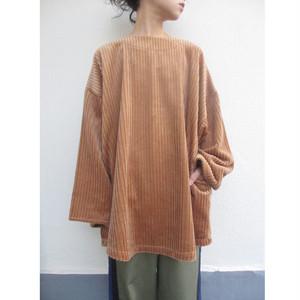 corduroy smock / brown