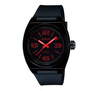 RS-001M-01 RISNY(リスニー) 楽天Edy内蔵 クオーツ 腕時計 ブラック ユニセックス