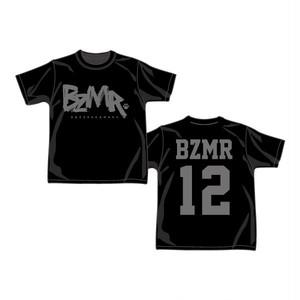 BZMR [Classic LOGO Tee] Black on Black.