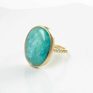 Blue Opal Ring(CR003-BO)