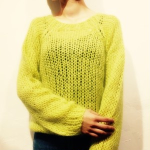 select mohair knit
