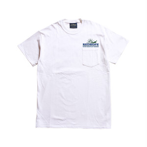 HOT CHILI S/S POCKET TEE white