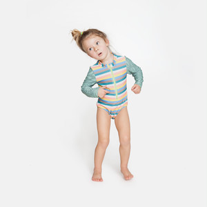 【mini seea】Sandpiper bodysuit - Azucar