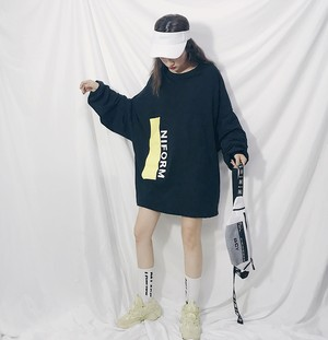 【お取り寄せ商品】カラービッグサイズTシャツ 7015