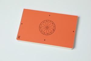 新しい「超」結果手帳《プレミアム版》オレンジ(クロス張り)
