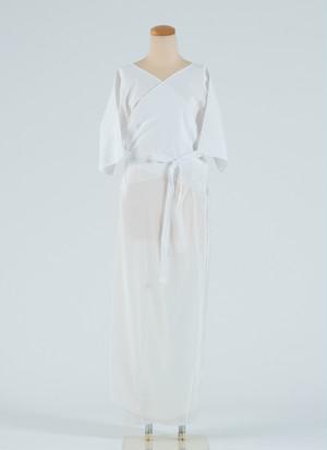 ワンピース肌着 花嫁スリップ 肌襦袢 白 着物 振袖