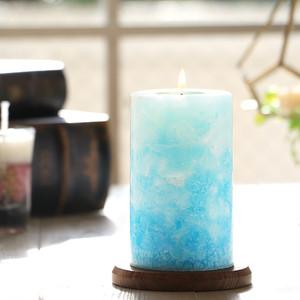 カラーセラピーキャンドル(ブルー)