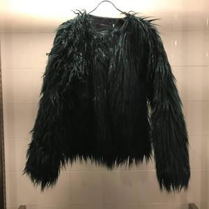 襟なしファージャケット