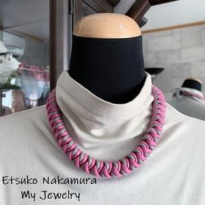綿100%ロープ大人おしゃれなマクラメ編みネックチョーカー