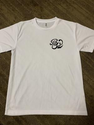 BGドライTシャツLサイズ(ホワイト)