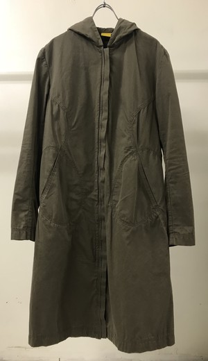 2000s MANDARINA DUCK HOODED COAT