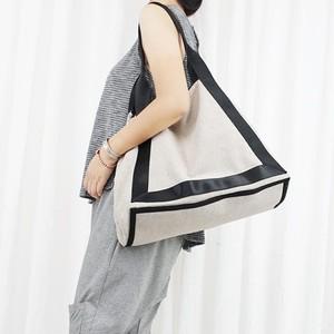 Large Handbag Canvas Patchwork Bag Vintage Shopping Bag コットン ハンドバッグ ビンテージ (YYB99-2028879)