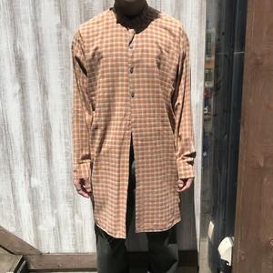 グランパシャツ Grandfather shirt リメイク