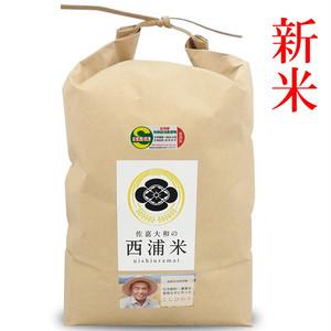 JAS認定無農薬 コシヒカリ玄米 5kg