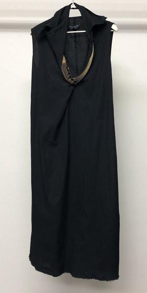 SS2005 JUNYA WATANABE CURVED ZIPPER DRESS