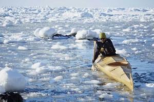 Aleut paddle <narai011>