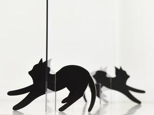 にゃんとも可愛いネコの飛沫防止パーテーション