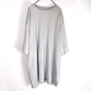 "web 初回盤10枚のみ  keisukeyoneda ""origami pleats"" tee grey"