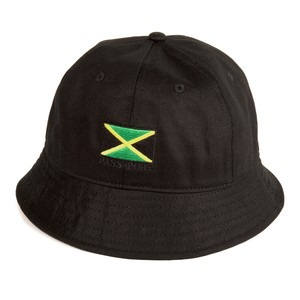 PASS PORT / JAMAICA BUCKET HAT -BLACK-